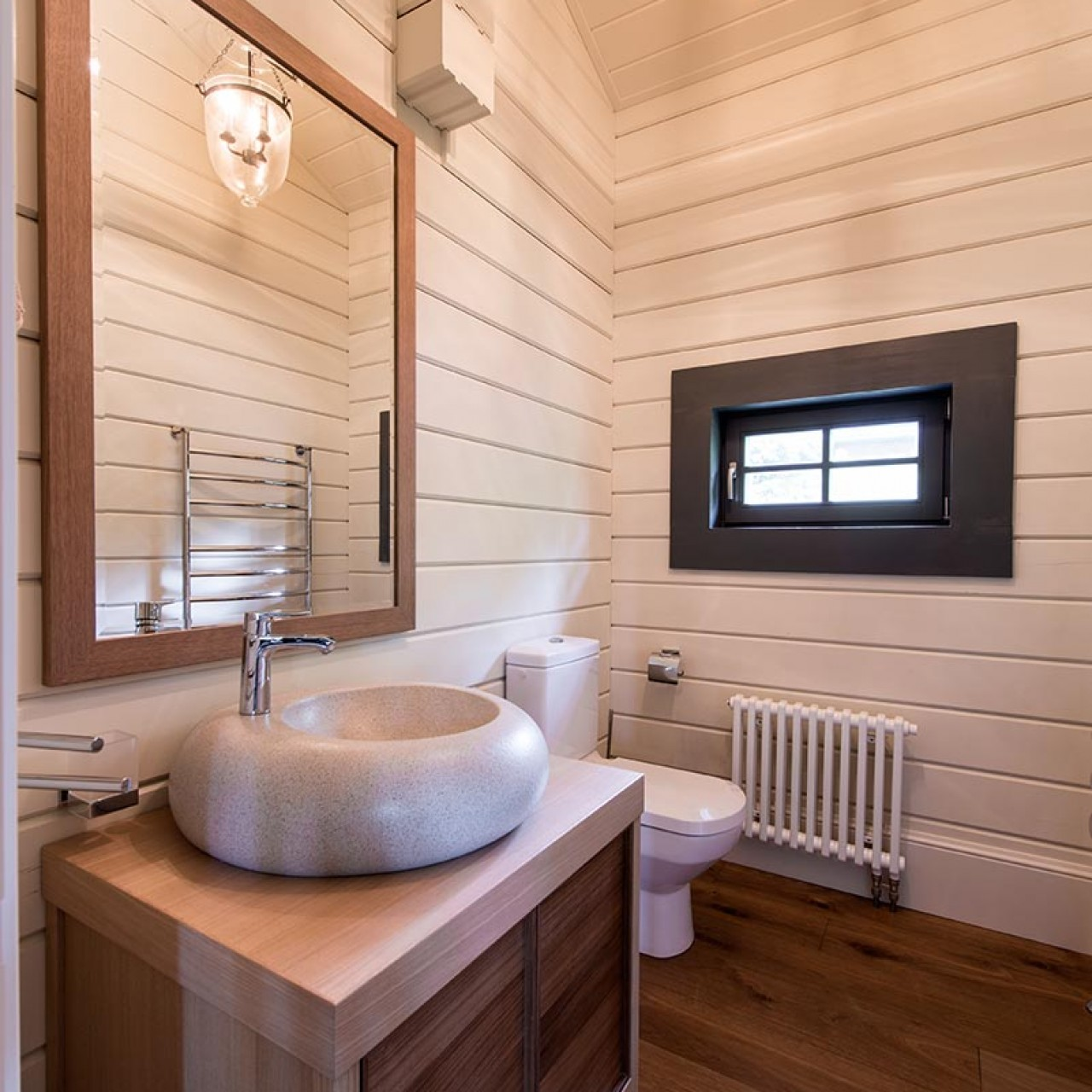Ванные комнаты в деревянном доме дизайн фото